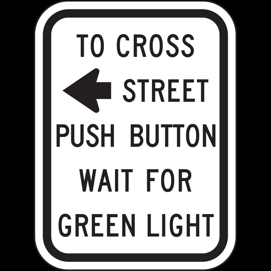 To Cross Street SVG Clip arts