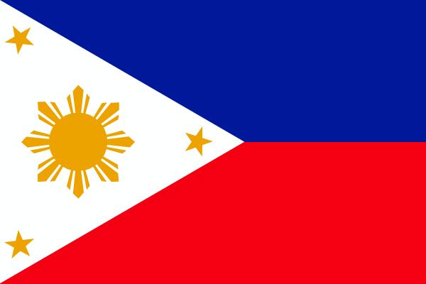 Philippines Flag SVG Clip arts
