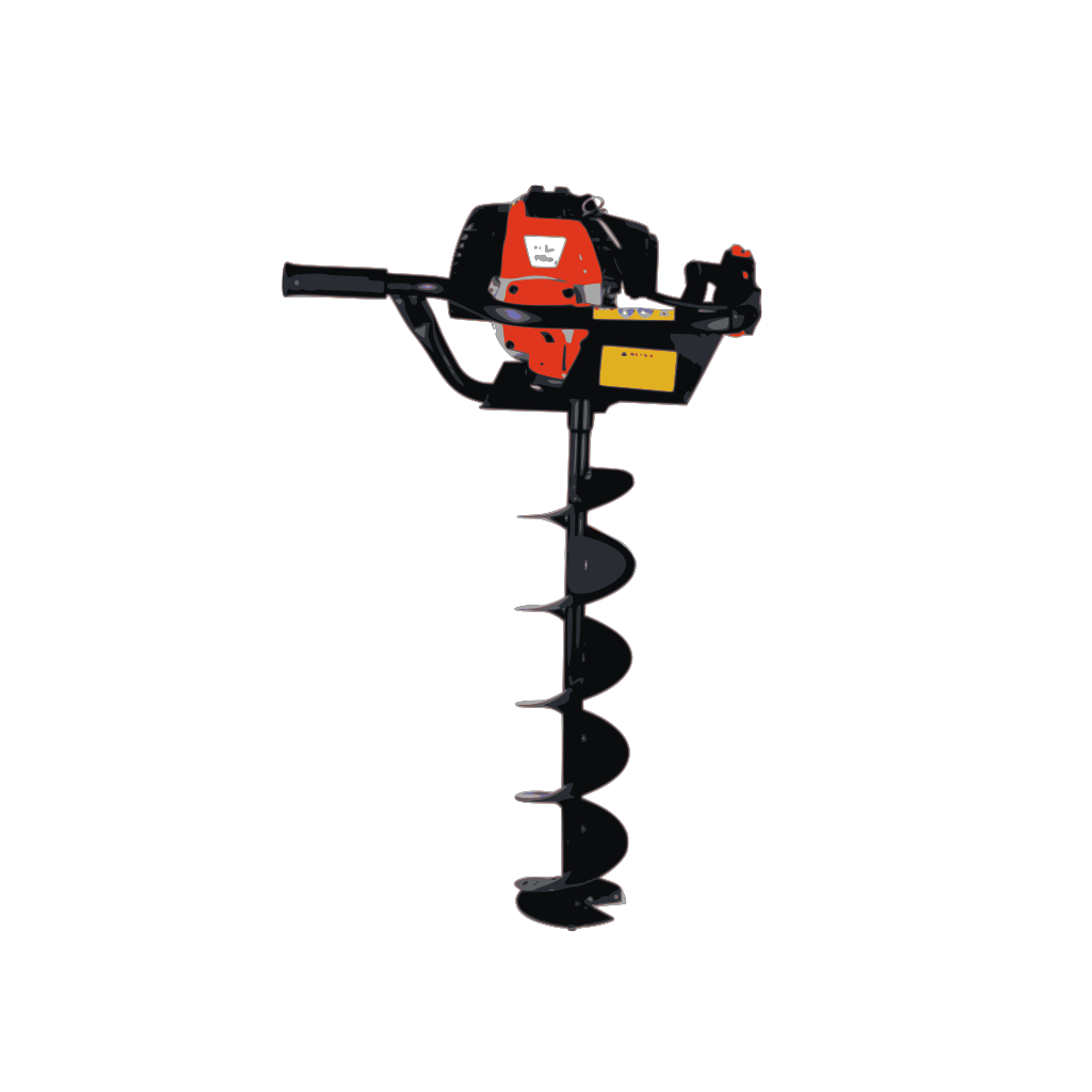 Heavy Power Drill SVG Clip arts