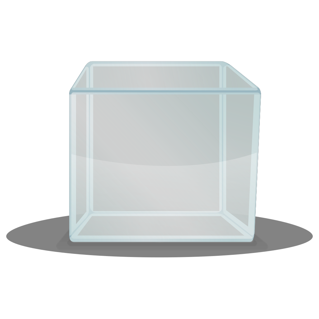Transparent Cube SVG Clip arts