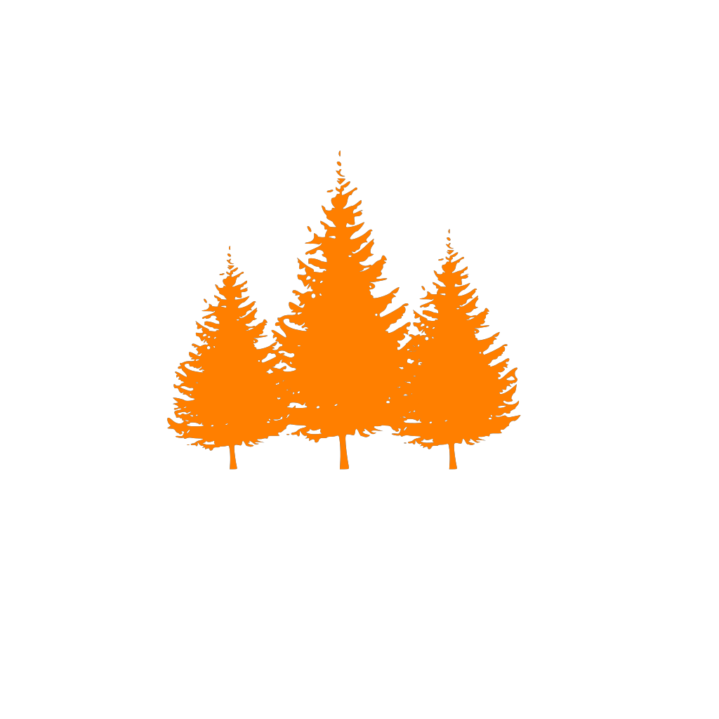 Cartoon Building With Trees svg