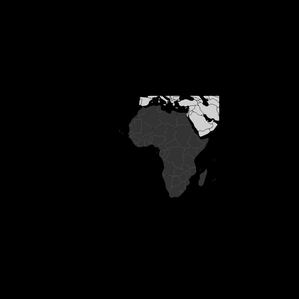 Africa Continent SVG Clip arts