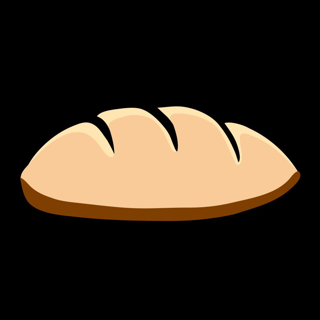 Bread Bun SVG Clip arts