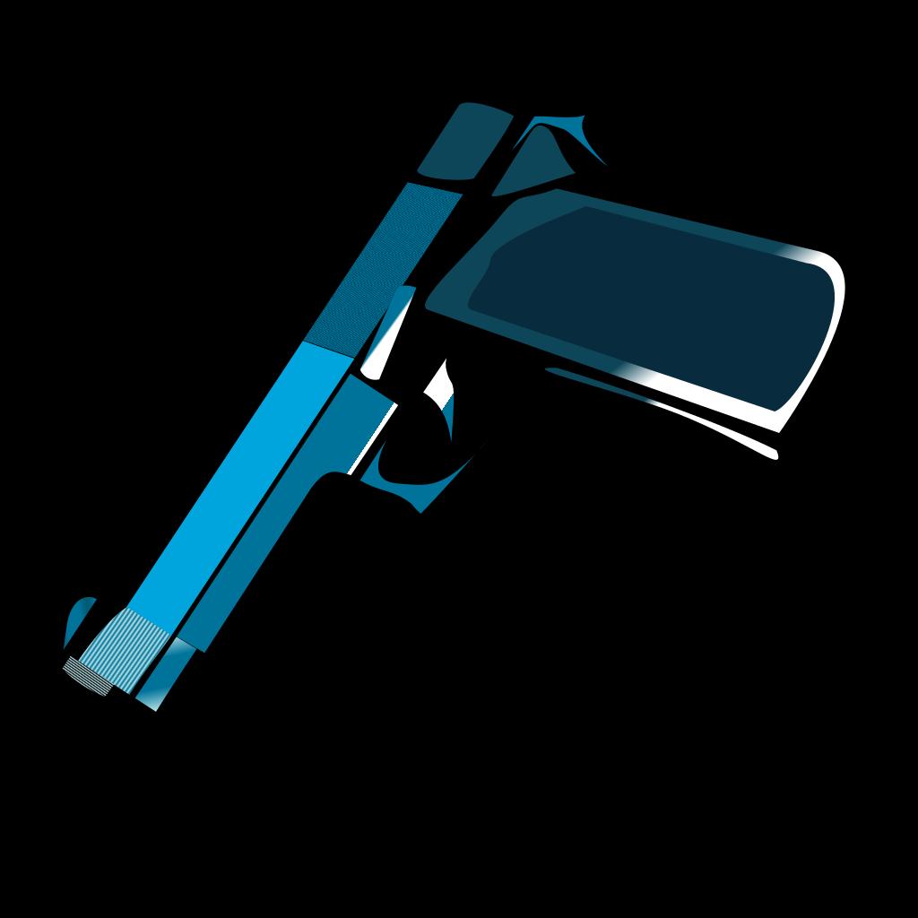 Bluegun SVG Clip arts