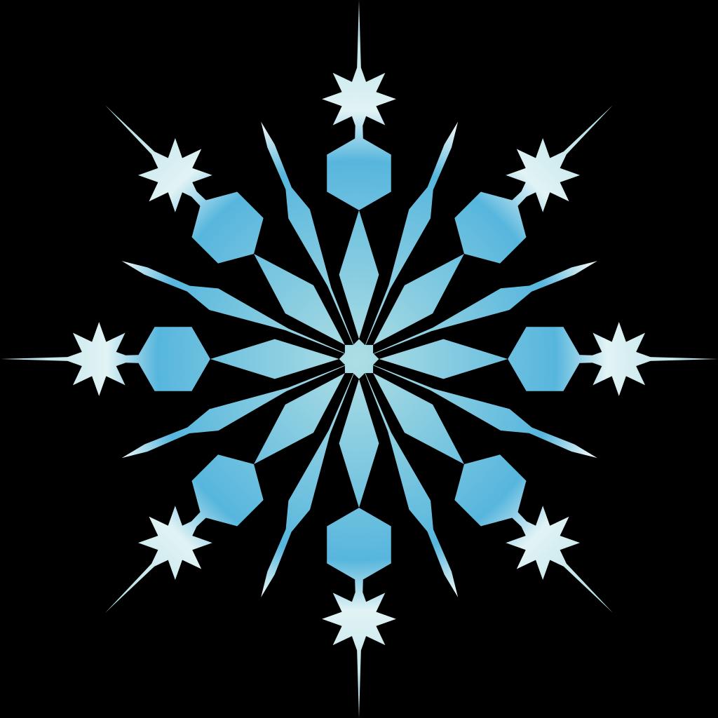 Snowflake SVG Clip arts