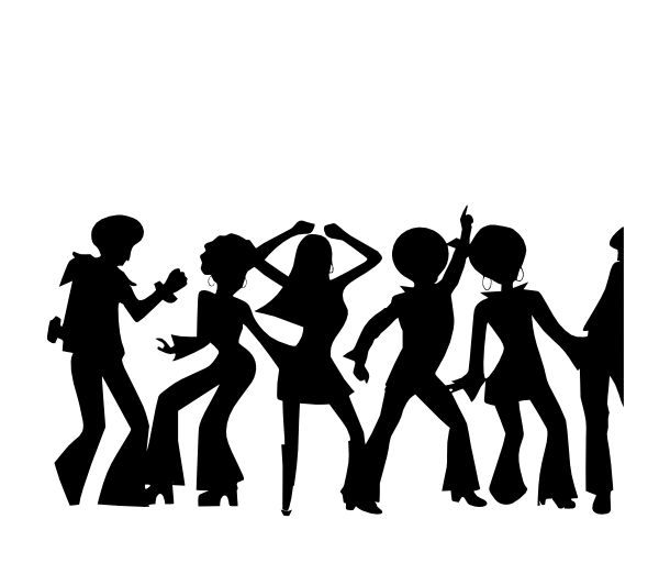 Partypeople SVG Clip arts