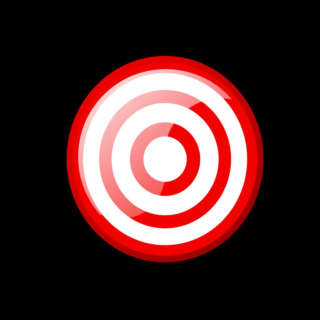 Hex Target SVG Clip arts