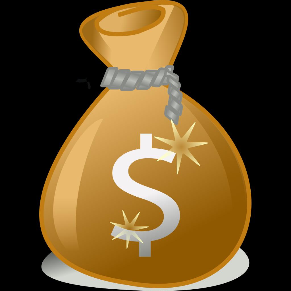 Money Bag SVG Clip arts