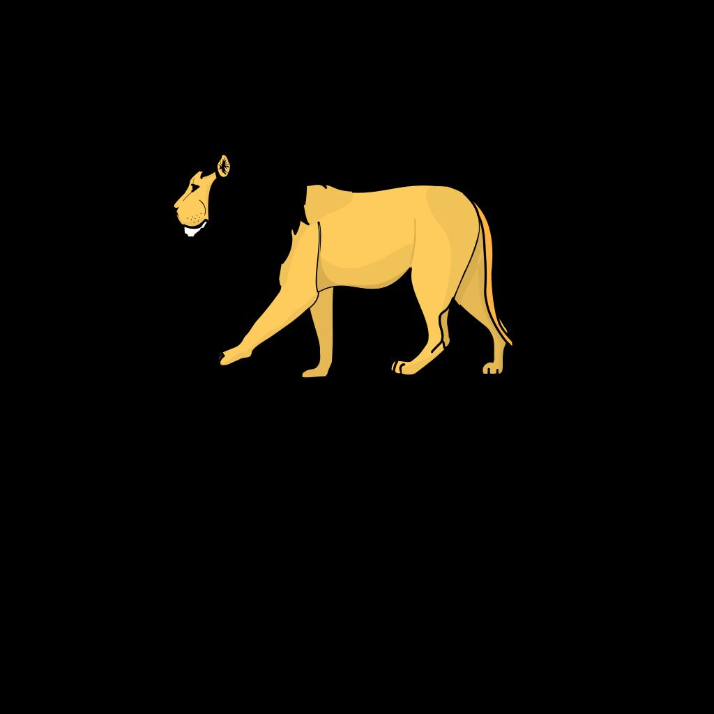 Lion 2 SVG Clip arts