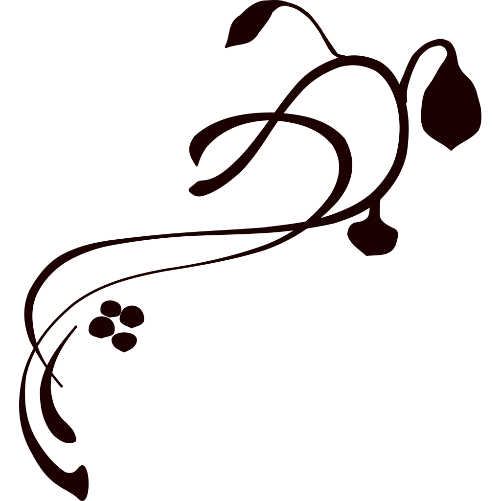 Brown Swirl SVG Clip arts