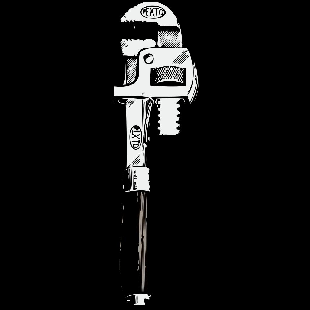 Andy Tools Hammer Spanner SVG Clip arts