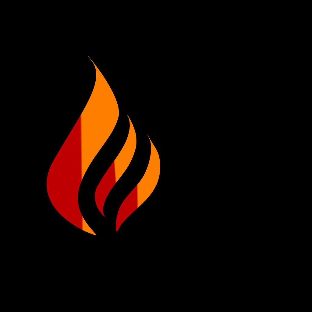 Blue Flame Logo SVG Clip arts