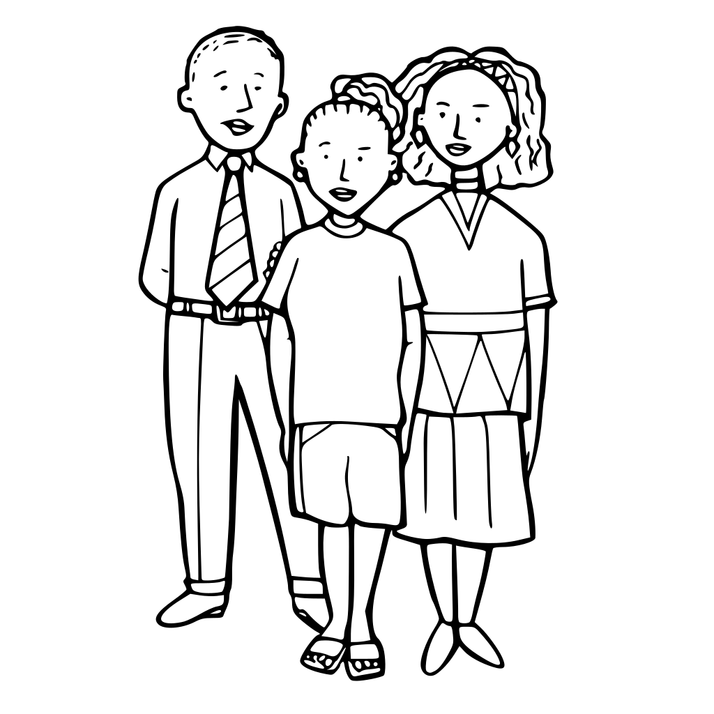 Children SVG Clip arts