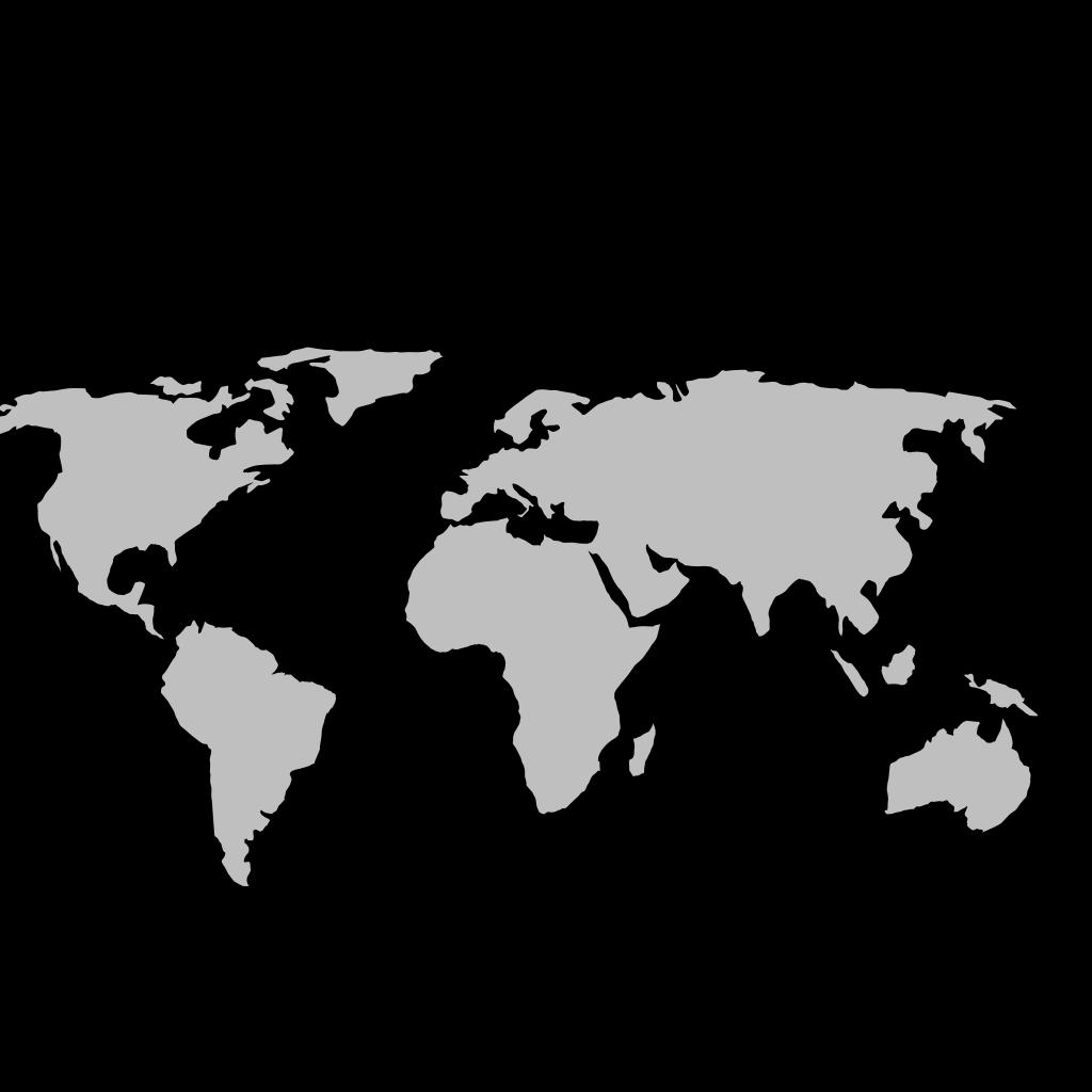 Australian Map Lines SVG Clip arts