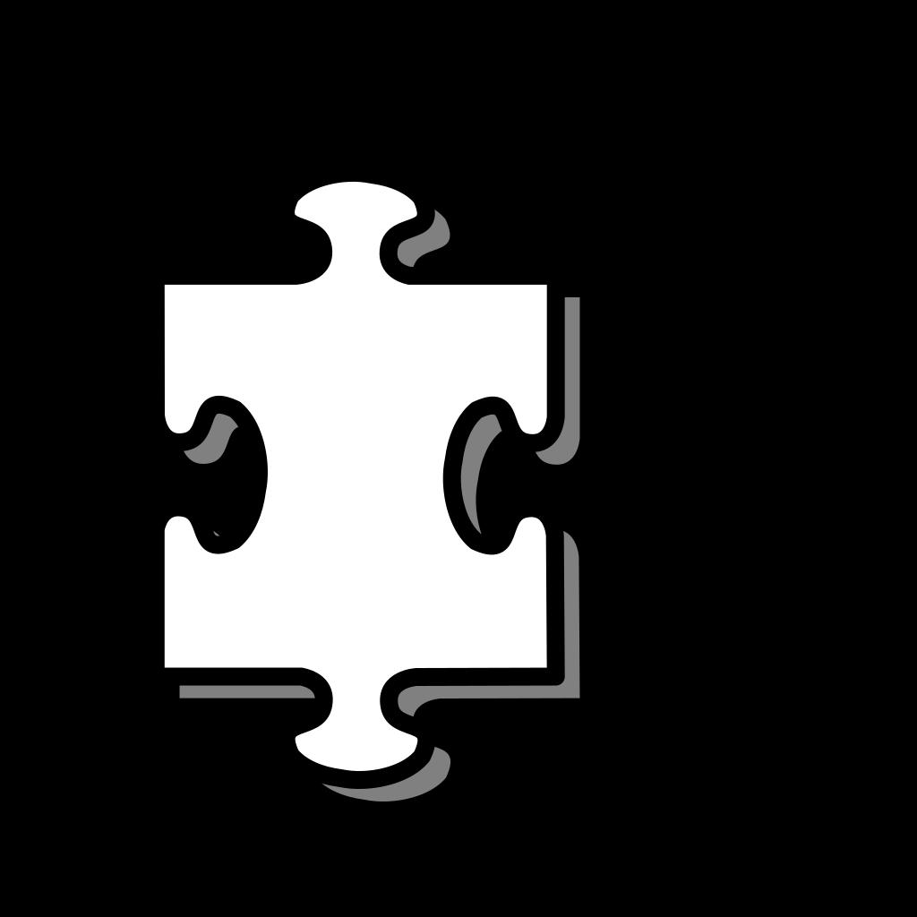 Puzzle Piece SVG Clip arts