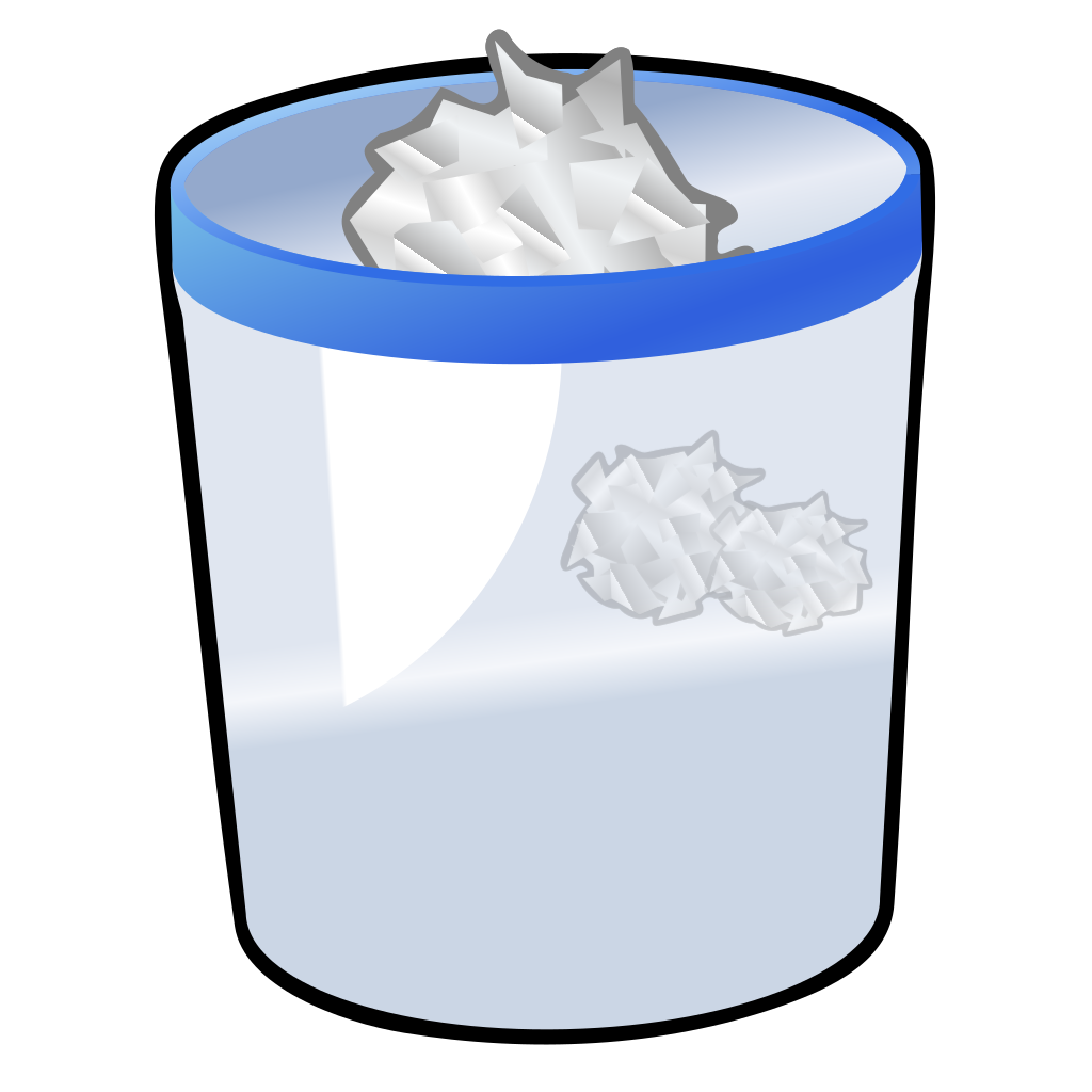 Trash Can SVG Clip arts