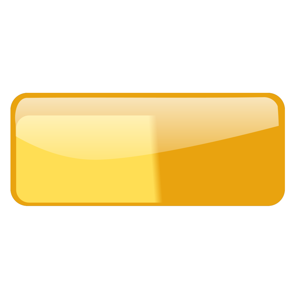 Glossy Rounded Rectangular Button Without Text SVG Clip arts