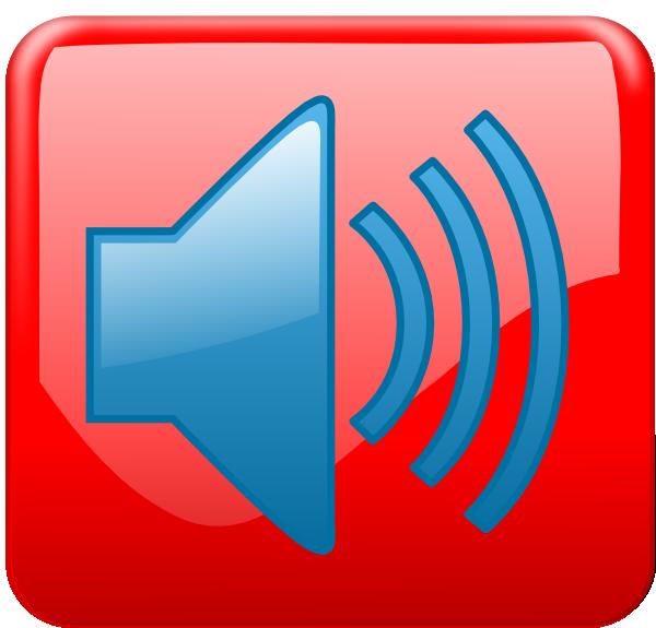 Audio Active Button SVG Clip arts