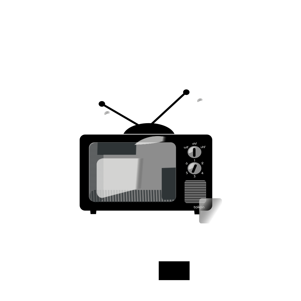 Television SVG Clip arts