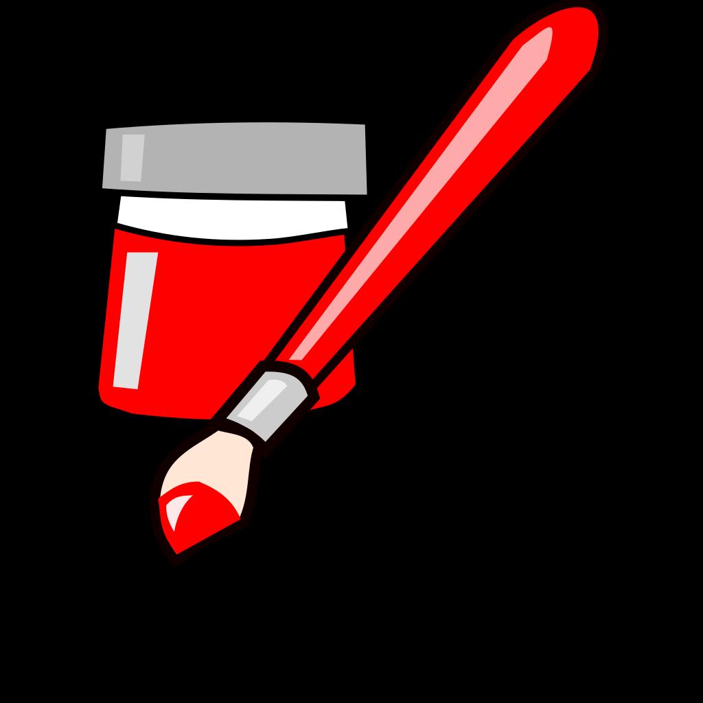 Painting SVG Clip arts