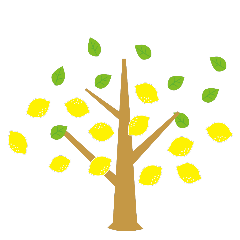 Brown Tree SVG Clip arts