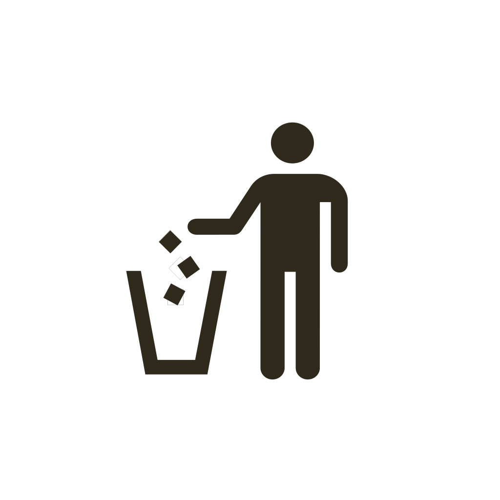 Do Not Litter SVG Clip arts