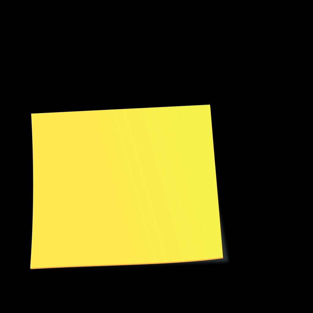 Light Blue Sticky Note PNG, SVG Clip art for Web ...
