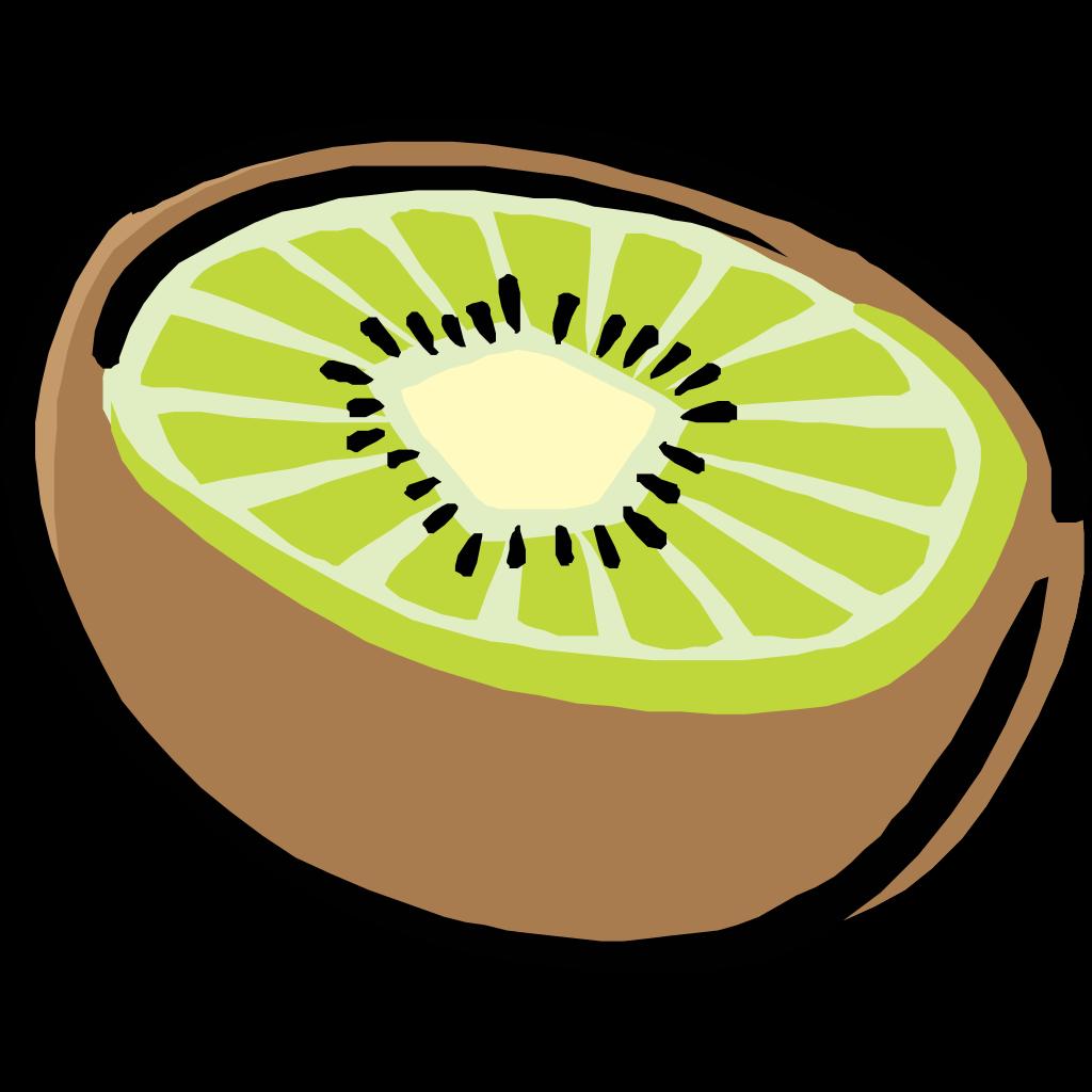 Kiwi SVG Clip arts
