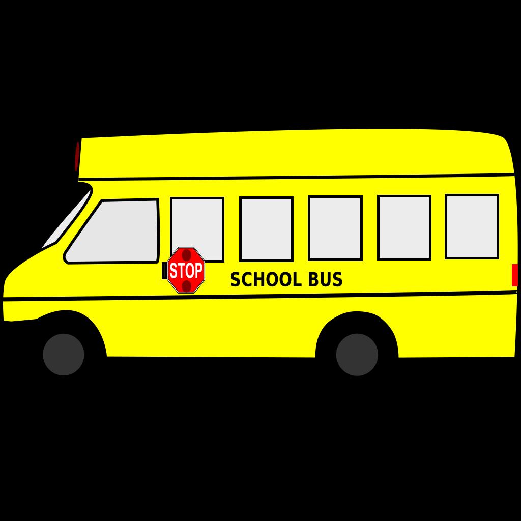 Brown School Bus svg