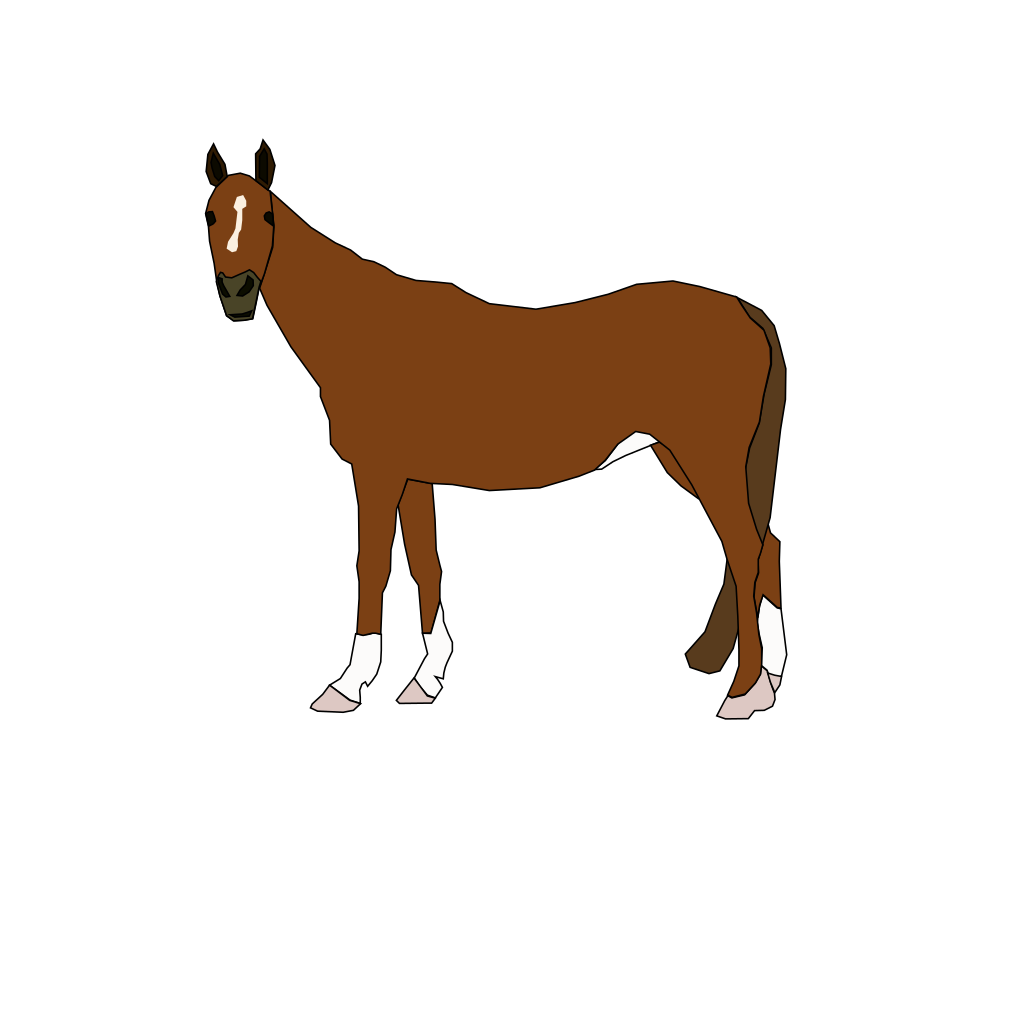 Horse Cartoon svg