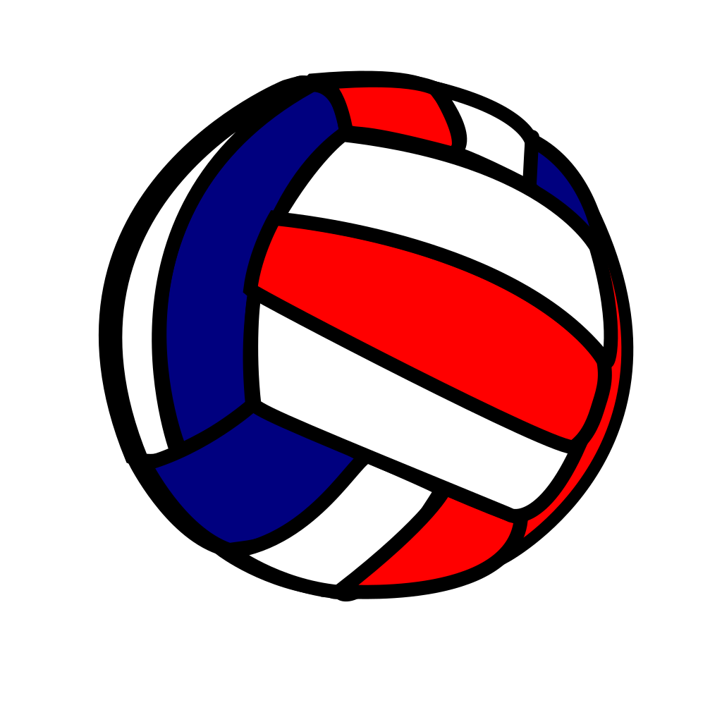 Volleyball svg