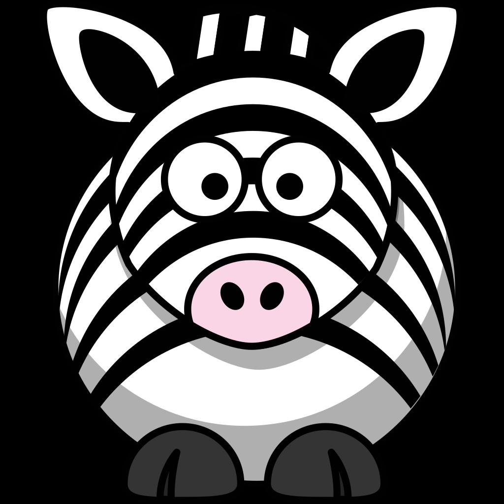 Zebra SVG Clip arts