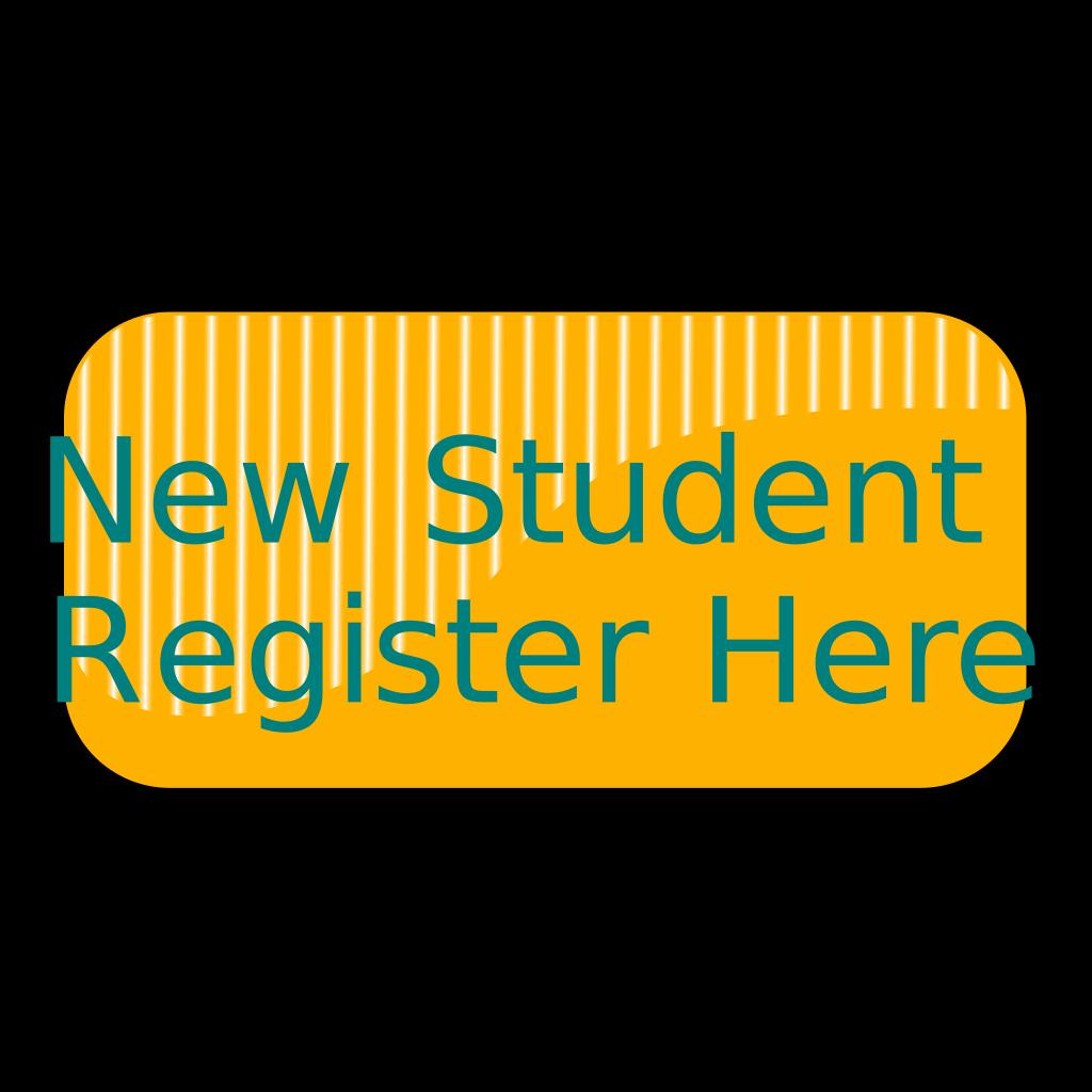 New Student Register Button SVG Clip arts