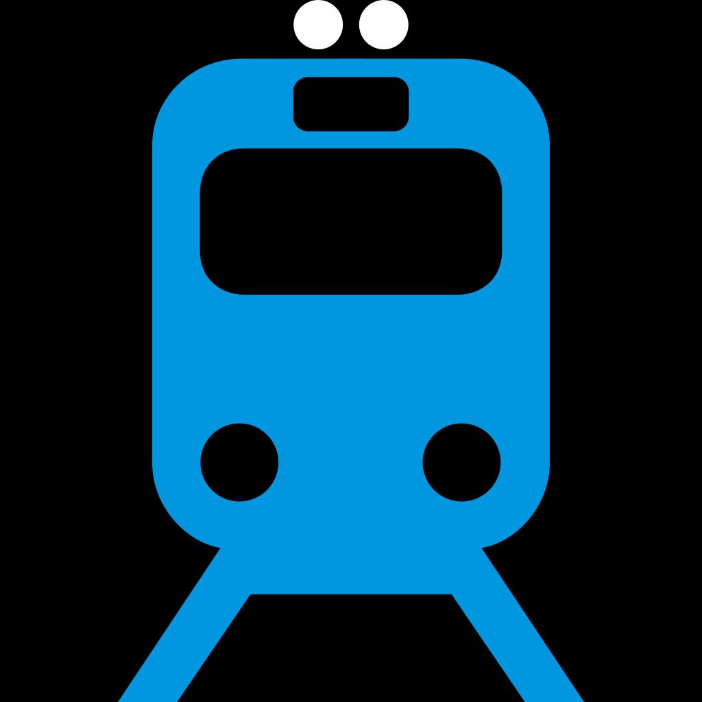 Rail Pictogram SVG Clip arts