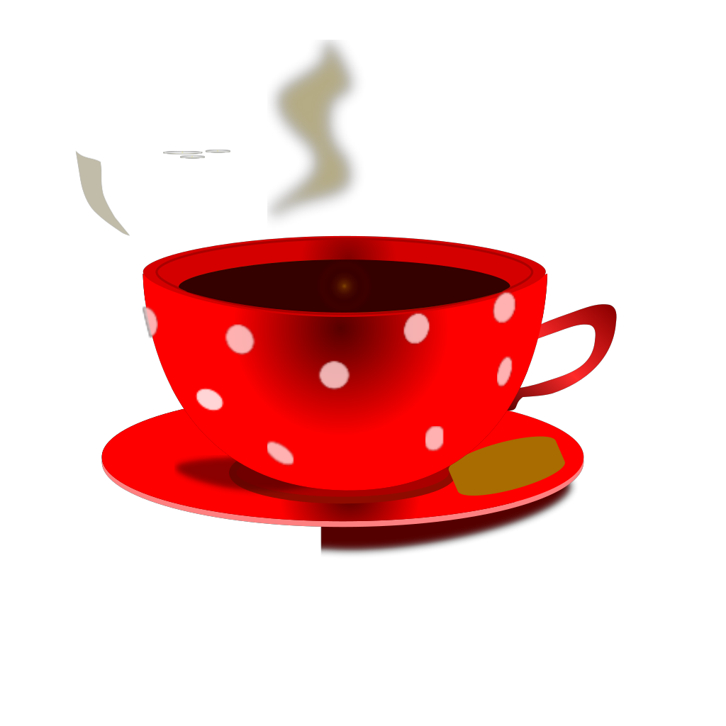 Mokush Realistic Coffee Cup Top View SVG Clip arts