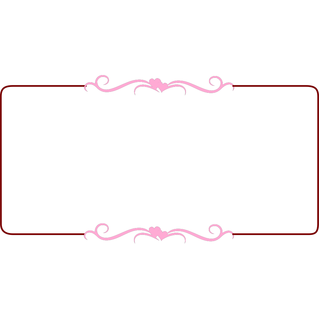 Wedding Border PNG, SVG Clip art for Web - Download Clip Art, PNG ...