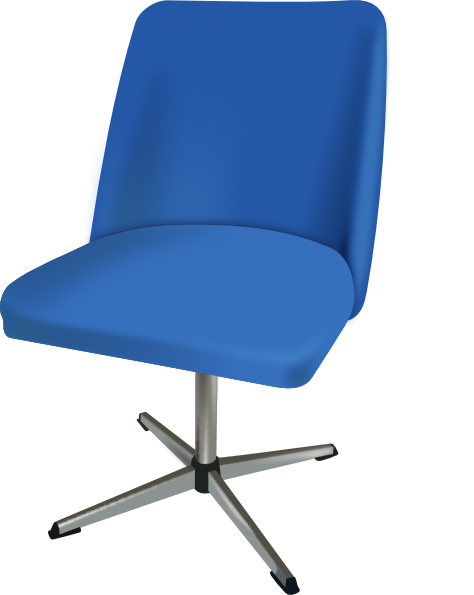 Furniture Desk Chair SVG Clip arts