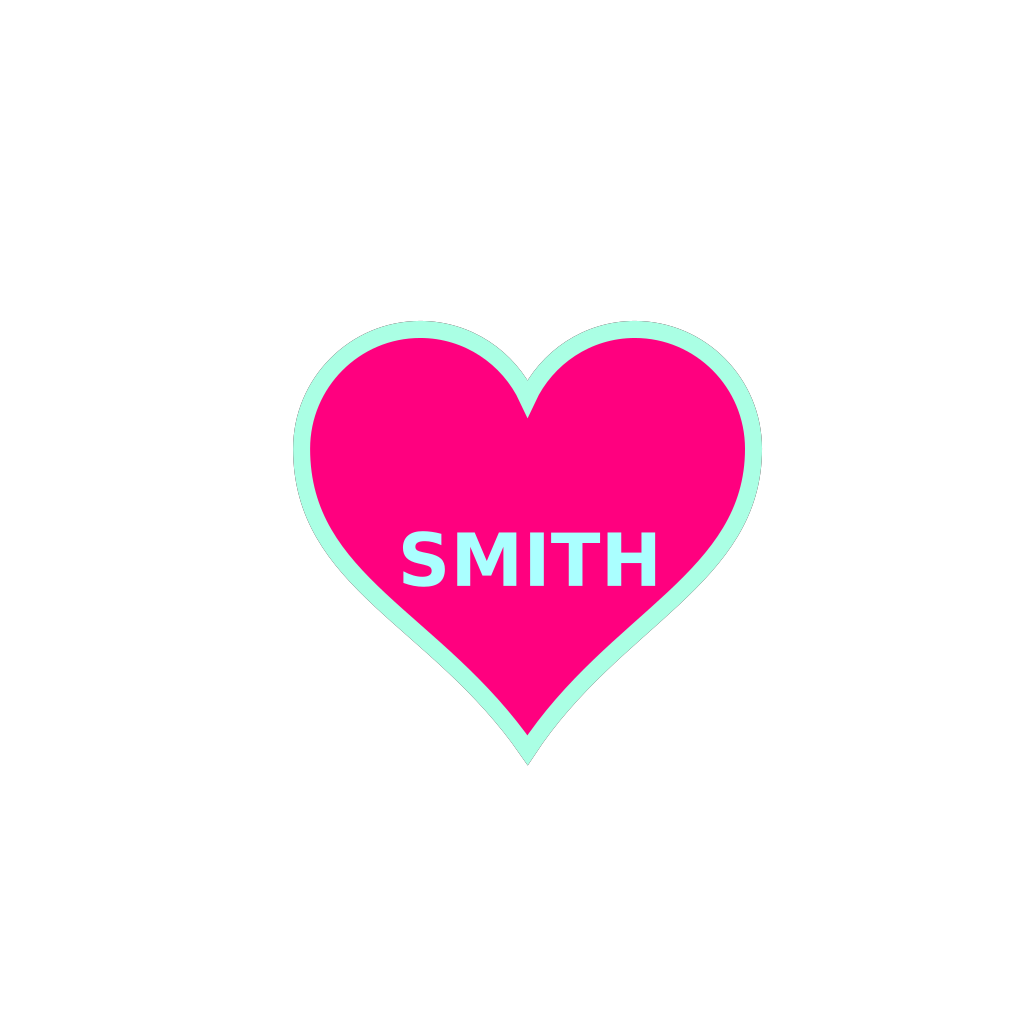 Smith Bday4 SVG Clip arts