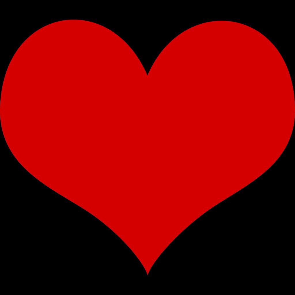 Heart And Ribbon SVG Clip arts