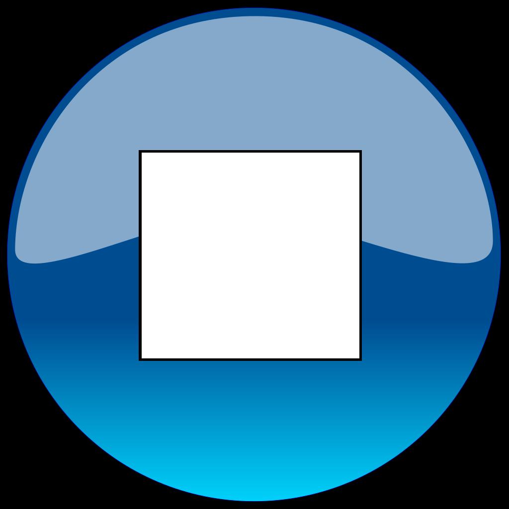 Stop Button SVG Clip arts