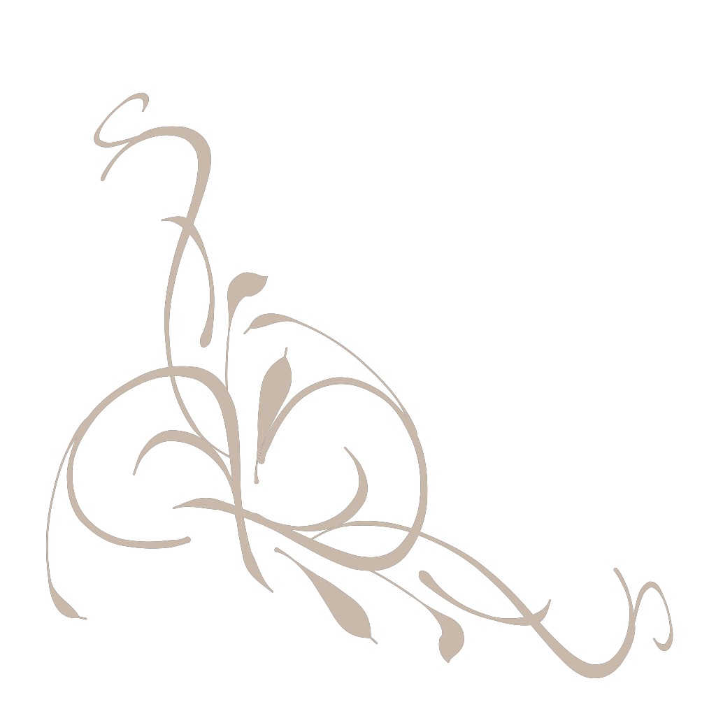 Floral Swirl SVG Clip arts