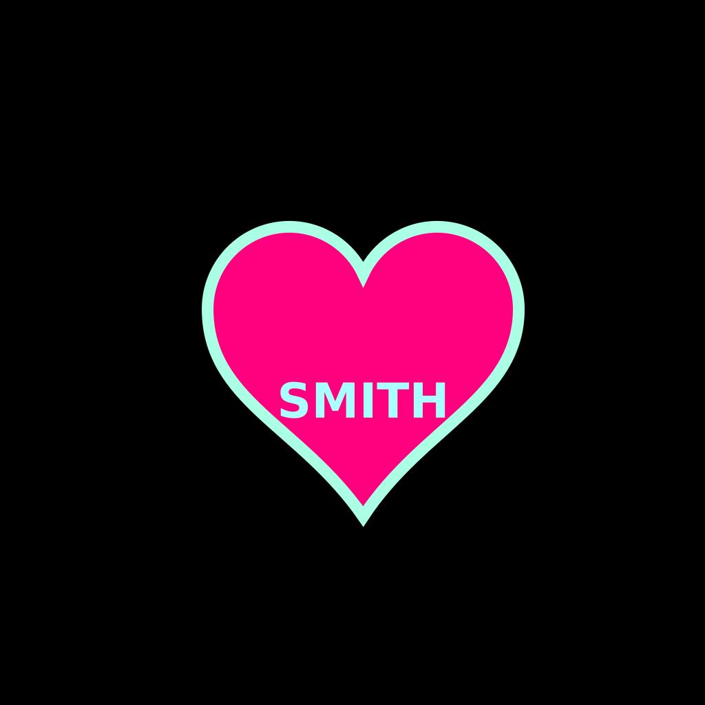 Smith Bday SVG Clip arts
