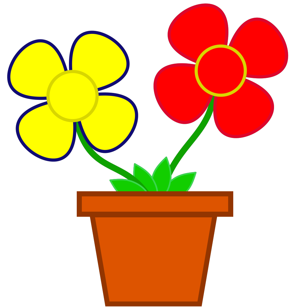 Flower4 SVG Clip arts