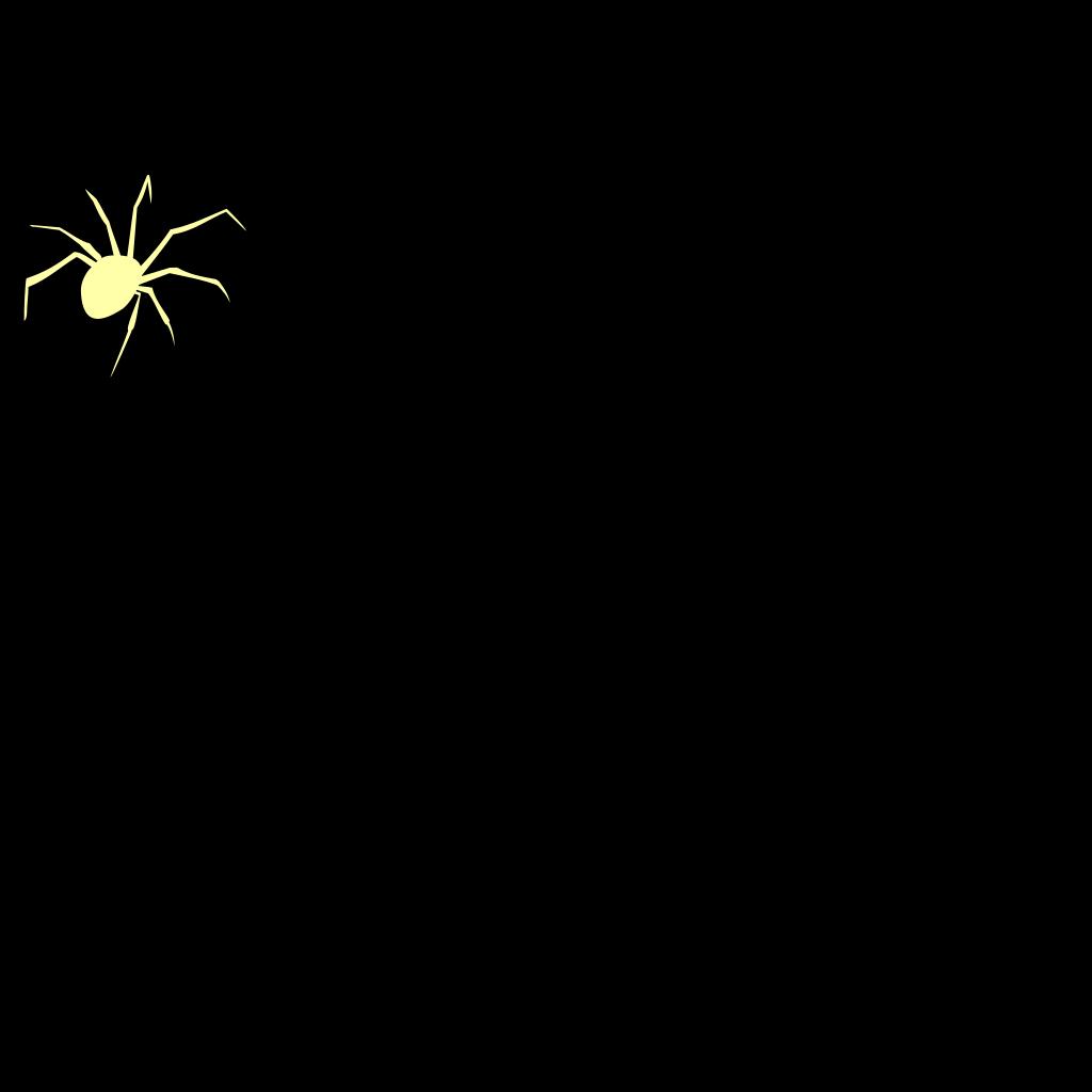 Black Widow Spider SVG Clip arts