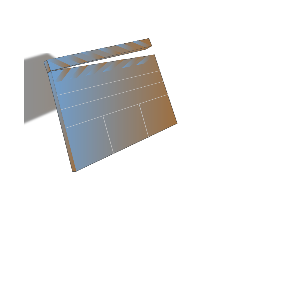 Blue Slate SVG Clip arts
