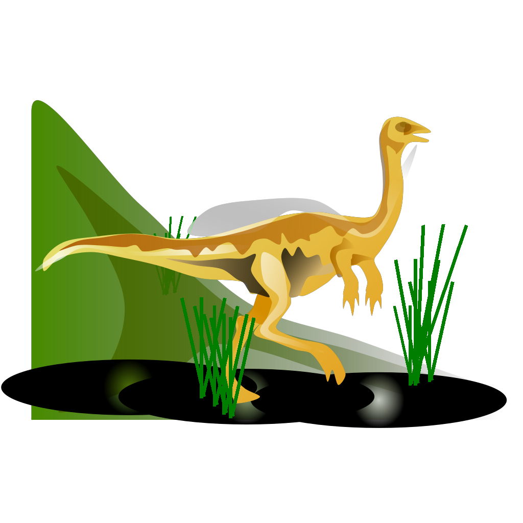 Gallimimus svg