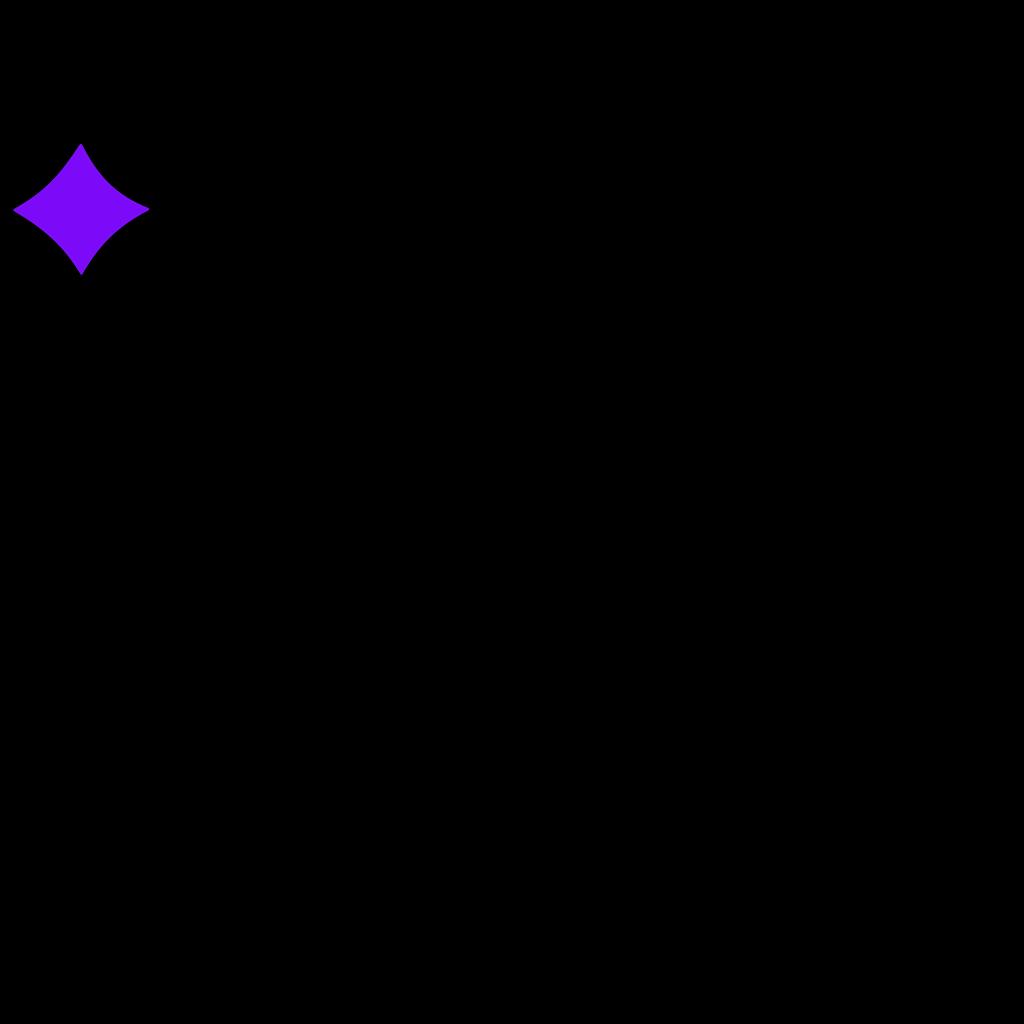 Blue Purple Diamond SVG Clip arts