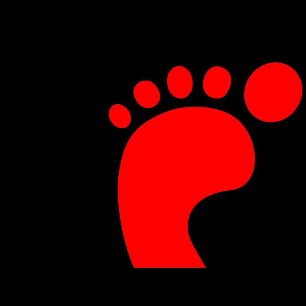 Elephant Foot SVG Clip arts
