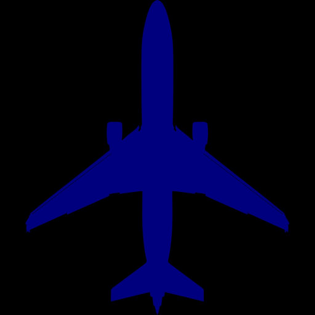 Blue Plane svg