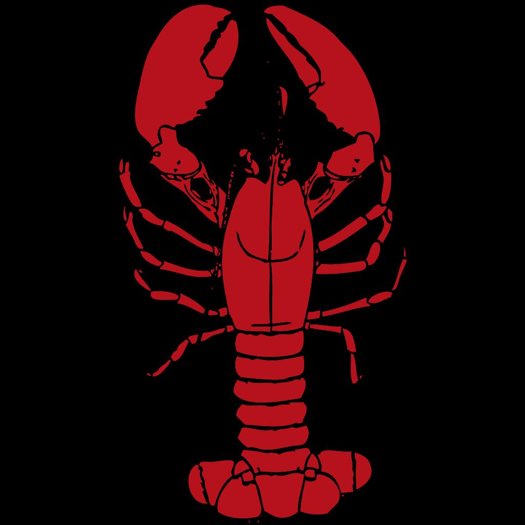 Red Lobster SVG Clip arts